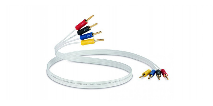1 QED performance original bi-wire - Connectiques audio - iacono.fr
