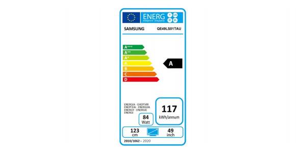 5 Samsung qe49ls01tauxxc - Écrans Led et Oled - iacono.fr