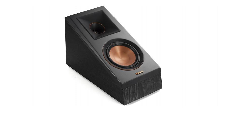 1 Klipsch rp-500sa ebony vinyl - Enceintes Atmos - iacono.fr