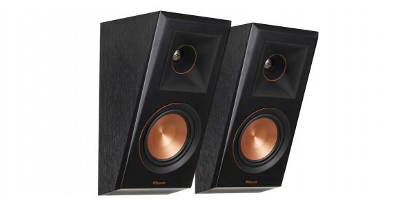 2 Klipsch rp-500sa ebony vinyl - Enceintes Atmos - iacono.fr