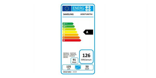 5 Samsung ue50tu8075u - Écrans Led et Oled - iacono.fr