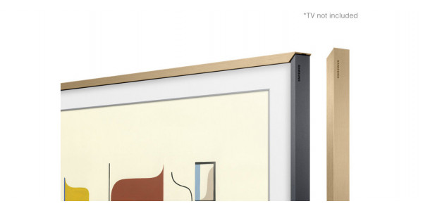 4 Samsung cadre the frame 43 couleur chêne - Accessoires - iacono.fr