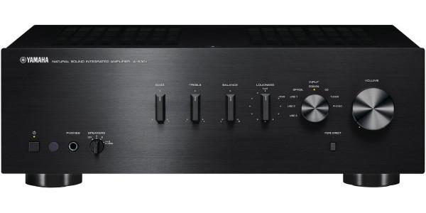 1 Yamaha A-S301 Noir - AMPLIFICATEURS INTÉGRÉS - iacono.fr