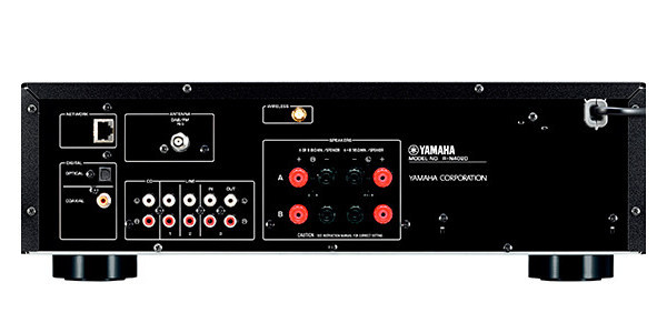 2 Yamaha MusicCast R-N402D Noir - AMPLIFICATEURS INTÉGRÉS - iacono.fr