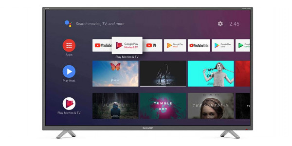 1 Sharp 40bl2ea 4k ultra hd android tv