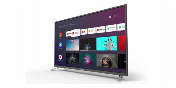 2 Sharp 40bl2ea 4k ultra hd android tv