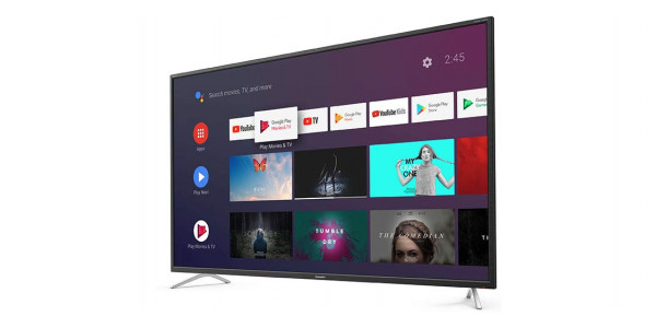 2 Sharp 50bl2ea 4k ultra hd android tv