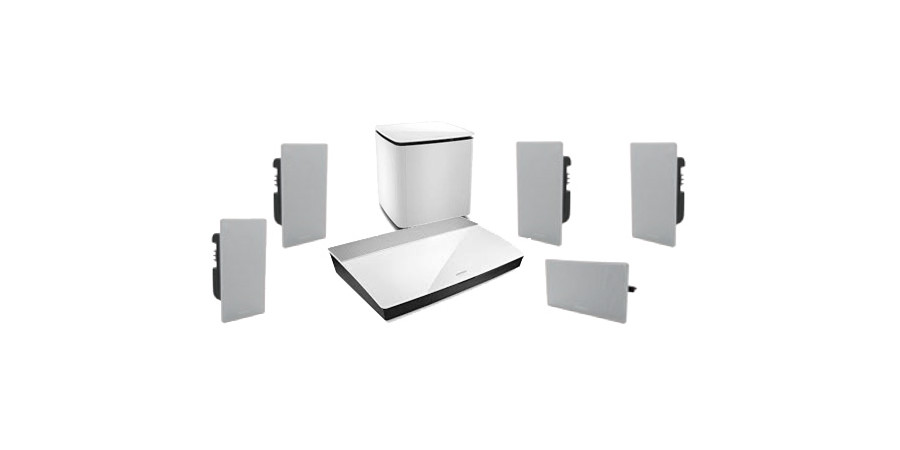 1 Lifestyle 600 in-wall blanc