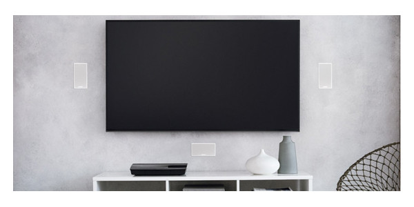 3 Lifestyle 600 in-wall blanc
