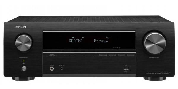 1 Denon AVR-X550BT Noir - Amplificateurs home cinéma - iacono.fr