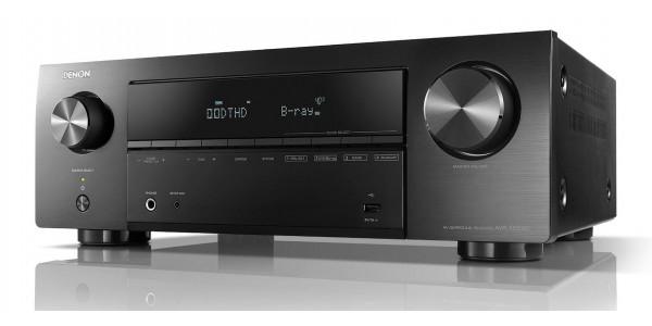 2 Denon AVR-X550BT Noir - Amplificateurs home cinéma - iacono.fr