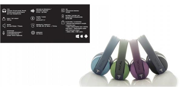 5 Focal Listen Wireless Noir - CASQUES HI-FI - iacono.fr