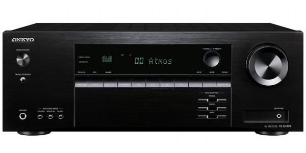 1 Onkyo tx-sr494 noir - Amplificateurs home cinéma - iacono.fr