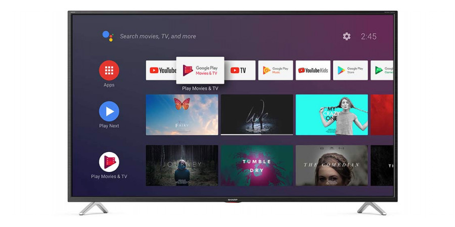 1 Sharp 55bl5ea 4k ultra hd android tv