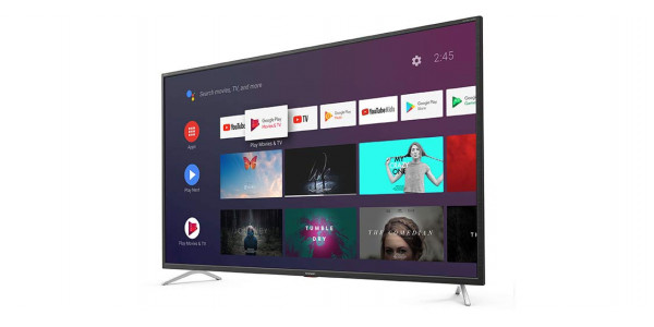 2 Sharp 55bl5ea 4k ultra hd android tv