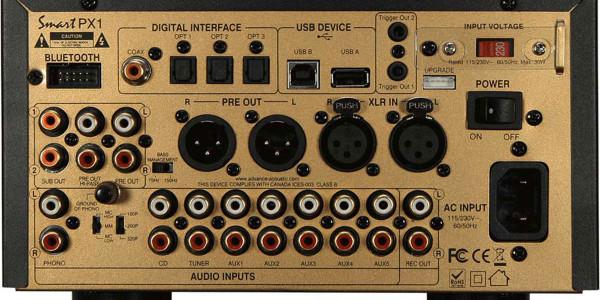 2 Advance Acoustic smart px1 noir