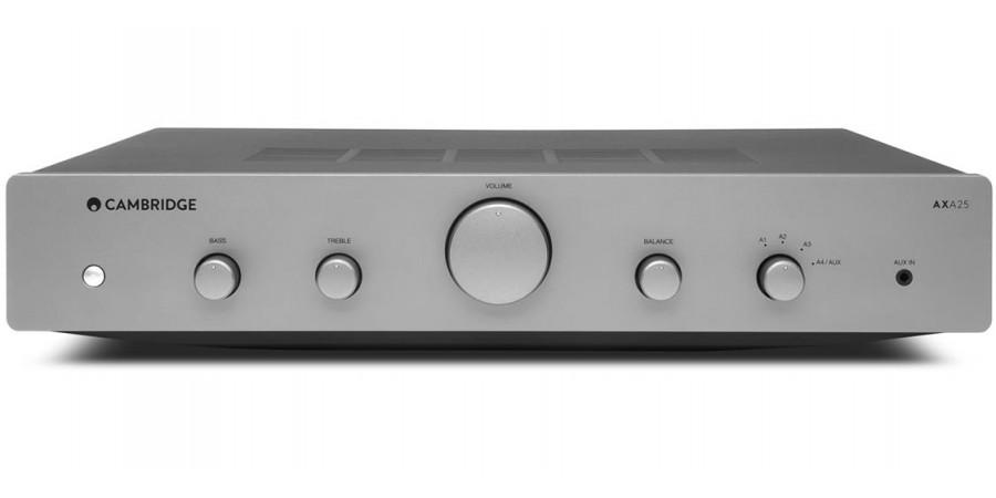 1 Cambridge audio ax a25 silver - Amplificateurs intégrés - iacono.fr