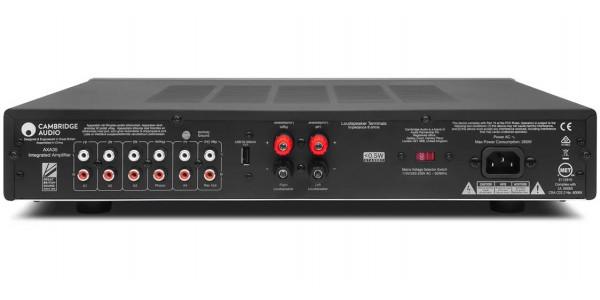 2 Cambridge audio ax a35 silver - Amplificateurs intégrés - iacono.fr