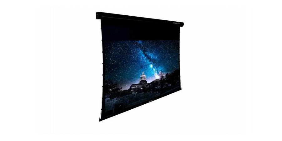 1 Lumene coliseum uhd 4k 350 c écran motorisé - Écrans de projection - iacono.fr