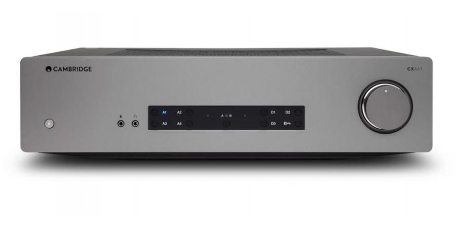 1 Cambridge audio cxa61 lunar grey - Amplificateurs intégrés - iacono.fr
