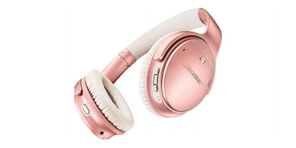 1 Bose quietcomfort 35 ii wireless rose gold