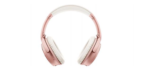 2 Bose quietcomfort 35 ii wireless rose gold