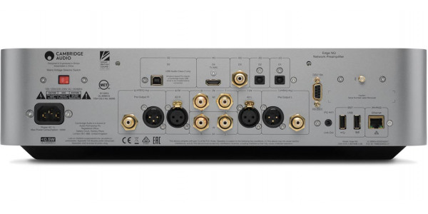 2 Cambridge audio edge nq silver - Préamplificateurs - iacono.fr