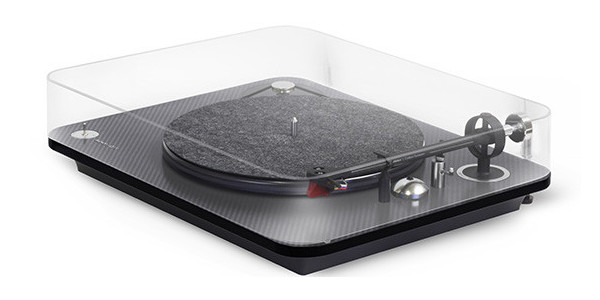 1 Elipson Oméga 100 RIAA BT carbone black - Platines vinyles - iacono.fr