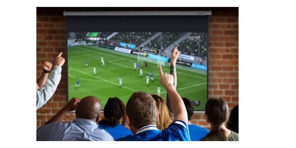 3 Lumene embassy hd 270 v écran motorisé - Écrans de projection - iacono.fr