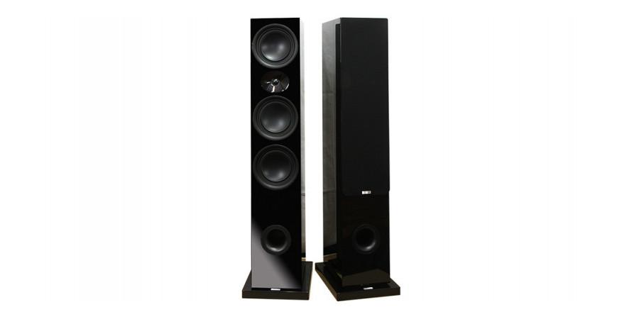 1 Advance Acoustic kc600 noir laqué - Enceintes colonnes - iacono.fr