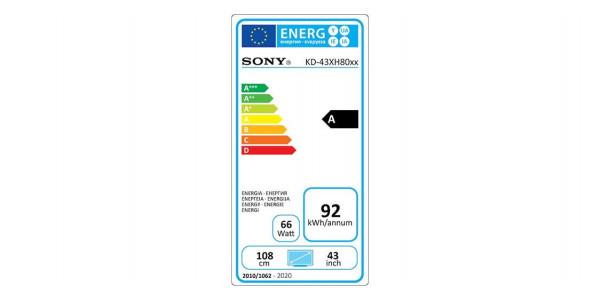 5 Sony kd-43xh8096 - Écrans Led et Oled - iacono.fr