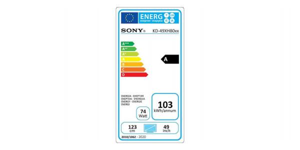 5 Sony kd-49xh8096 - Écrans Led et Oled - iacono.fr
