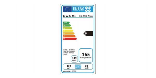5 Sony kd-49xh9505 - Écrans Led et Oled - iacono.fr