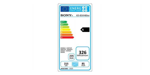 5 Sony kd-85xh8096 - Écrans Led et Oled - iacono.fr