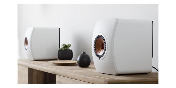 5 Kef ls50 wireless blanc - Enceintes sans fil - iacono.fr