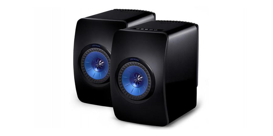 1 Kef ls50 wireless noir - Enceintes sans fil - iacono.fr