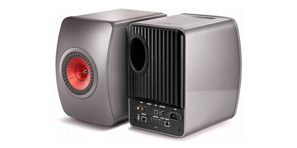 2 Kef ls50 wireless noir - Enceintes sans fil - iacono.fr