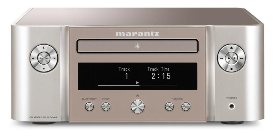 1 Marantz m-cr412 silver gold - Chaînes compactes - iacono.fr