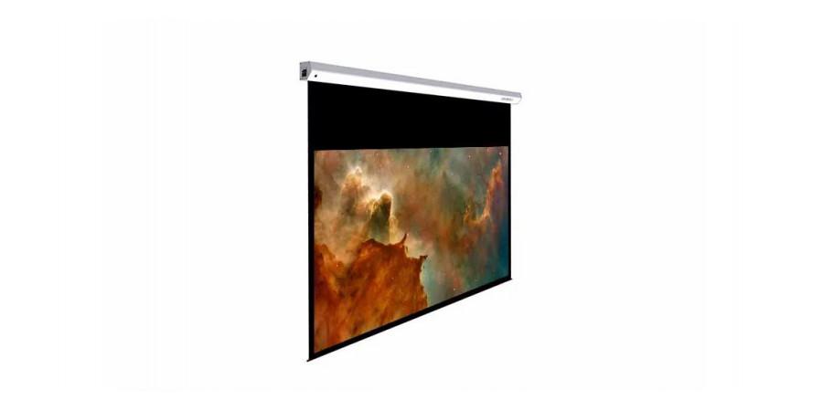 1 Lumene majestic hd 270 c écran motorisé - Écrans de projection - iacono.fr