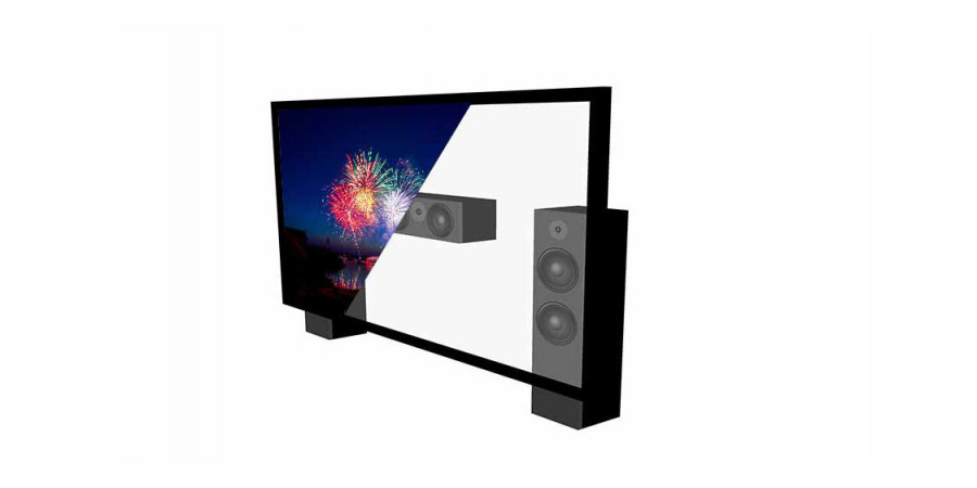 1 Lumene movie palace uhd 4k acoustic 240 c - Écrans de projection - iacono.fr
