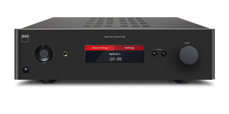 1 NAD C388 Noir - Amplificateurs intégrés - iacono.fr