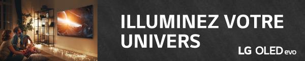 Illuminez votre univers avec LG OLED Evo