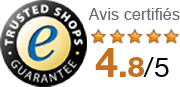 iacono.fr, Trusted Shops guarantee et avis certifiés